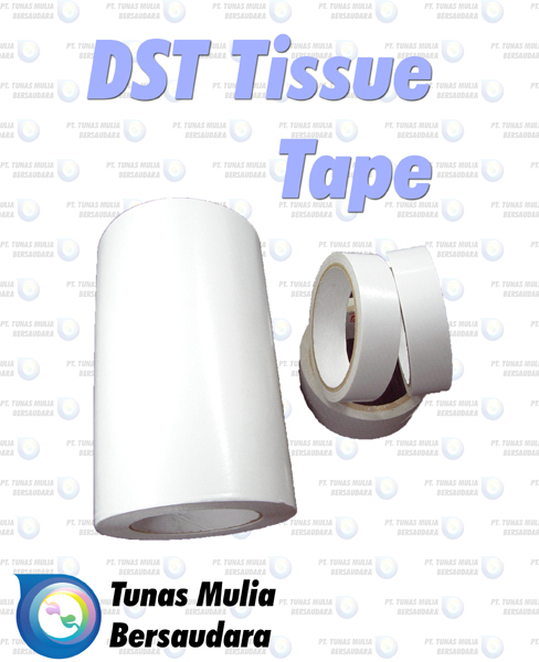 Jual DST Tissue Tape (Double Side Tape)