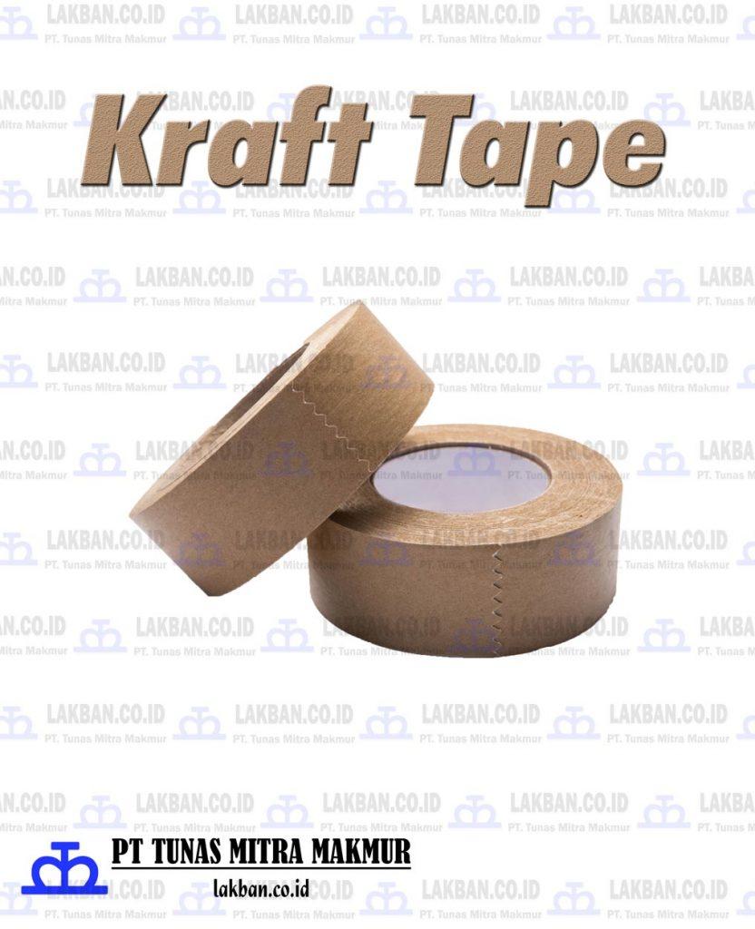 Produk Lakban Kertas / Kraft Tape