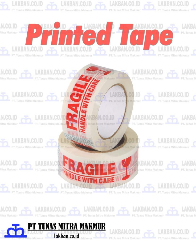 opp printed tape lakban printing | lakban.co.id