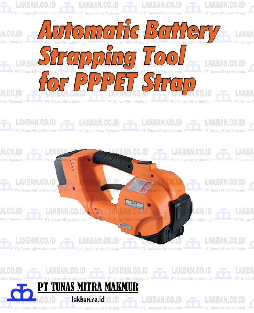 Jual Automatic Battery Strapping Tool untuk PP PET Strap