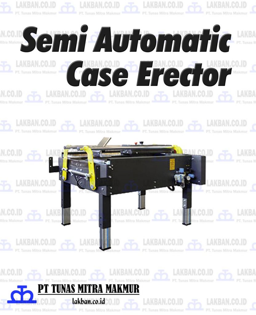 Jual Semi Automatic Case Erector
