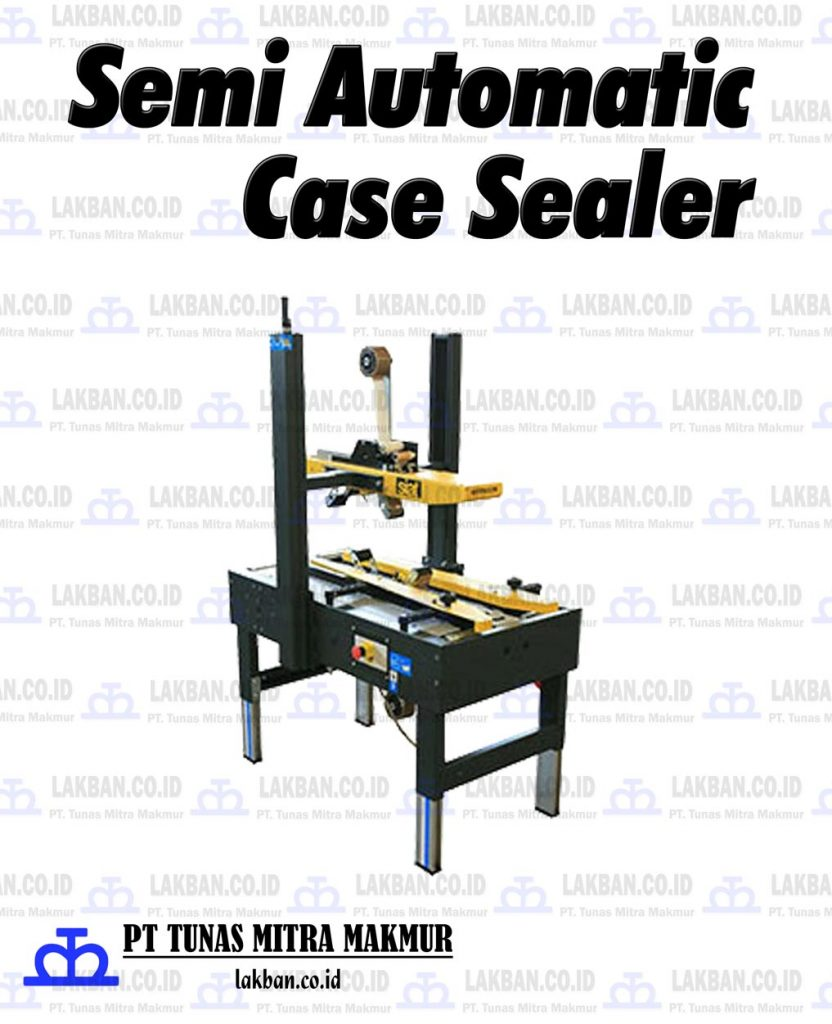 Jual Semi Automatic Case Sealer
