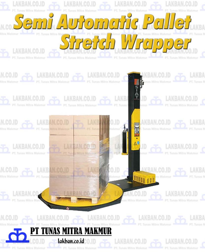 Jual Semi Automatic Pallet Stretch Wrapper