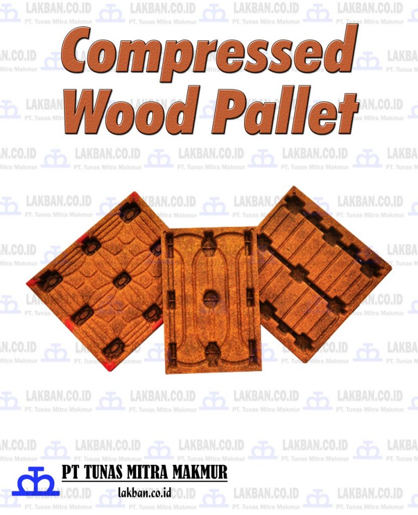 Jual Compressed Wood Pallet